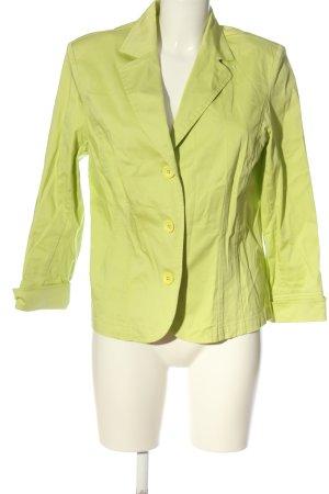 Chicc Klassischer Blazer green casual look