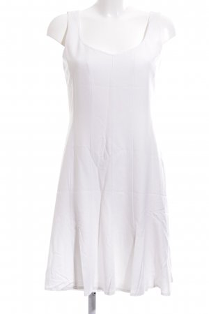 Chicc Pinafore dress white casual look