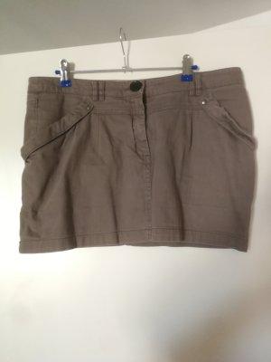 MNG Collection Gonna di jeans grigio-grigio chiaro Cotone