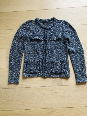 Chice Kasten-Strickjacke in Boucle Optik von Set