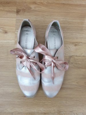Marco Tozzi Oxfords silver-colored-dusky pink