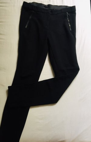 Zero Peg Top Trousers black