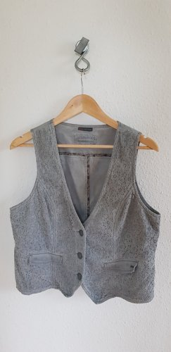 Esprit Waistcoat light grey-grey