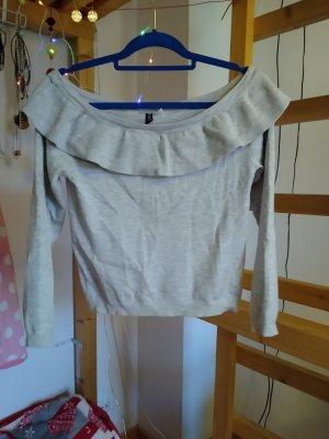 H&M Wool Sweater light grey