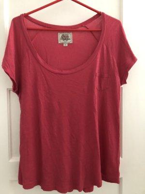 Chices T-Shirt mit tiefen Ausschnitt, XL