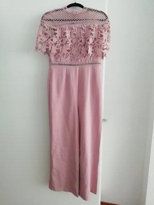 Chi Chi London Langer Jumpsuit dusky pink