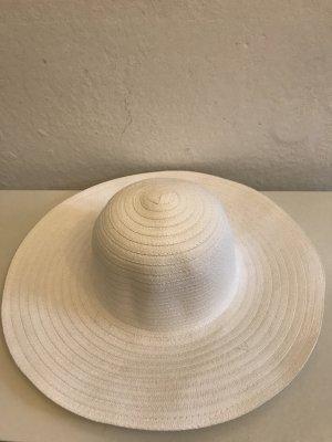 Cappello parasole bianco