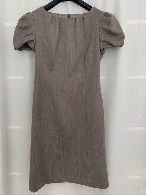 Apart Sukienka z krótkim rękawem szaro-brązowy-beżowy