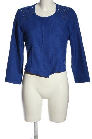 chicle Kurz-Blazer blau Casual-Look