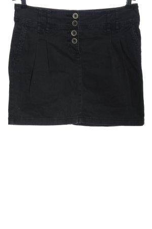 Chicorée Mini rok zwart casual uitstraling