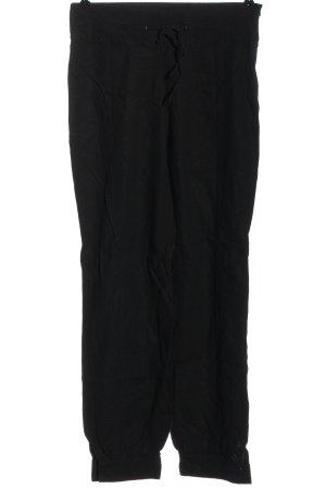 Chicorée Stoffen broek zwart casual uitstraling