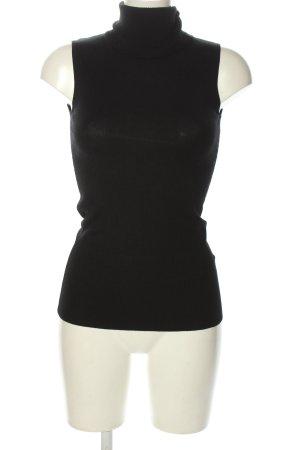 Chicorée Knitted Top black casual look