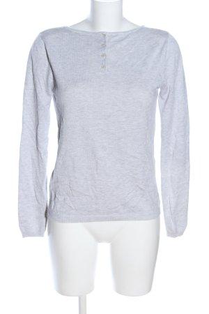 Chicorée Sweatshirt hellgrau meliert Casual-Look