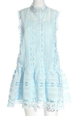 Chicwish Blouse Dress blue elegant