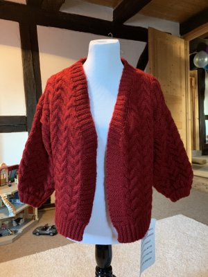 Chicwish Knitted Cardigan carmine