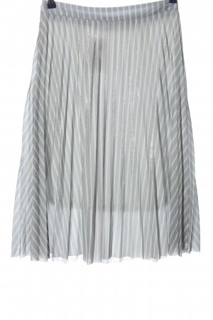 Chicwish Flared Skirt striped pattern elegant