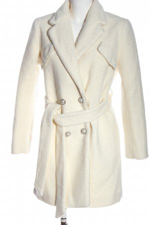 Chicwish Short Coat natural white casual look