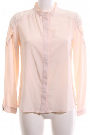 Chicwish Long Sleeve Blouse nude casual look