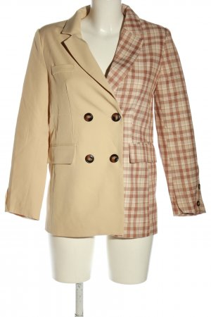 Chicwish Long-Blazer Karomuster Casual-Look