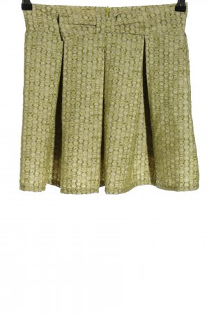 Chicwish Plaid Skirt green-natural white allover print casual look