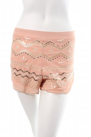 Chicwish Shorts dusky pink Sequin ornaments