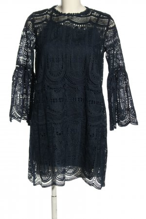 Chicwish Lace Dress blue casual look