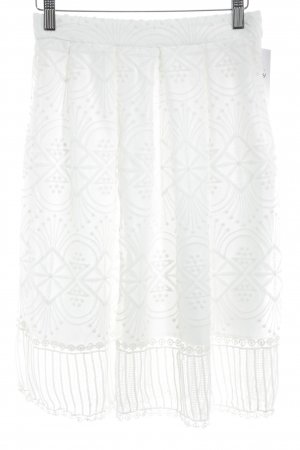 Chicwish Lace Skirt white Lace trimming