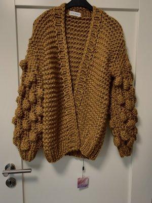 Chicwish Veste tricotée en grosses mailles multicolore