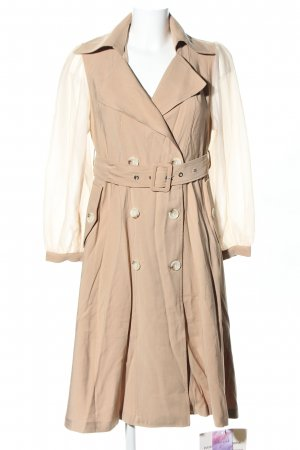 Chicwish Between-Seasons-Coat nude business style