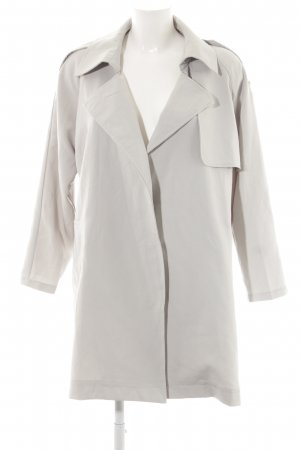 Chicwish Between-Seasons-Coat light grey elegant