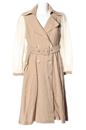 Chicwish Between-Seasons-Coat nude business style