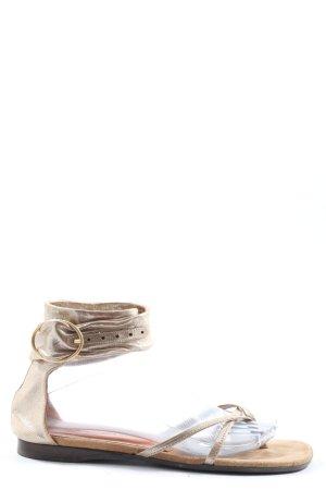 Chie Mihara Sandalo Dianette oro stile casual