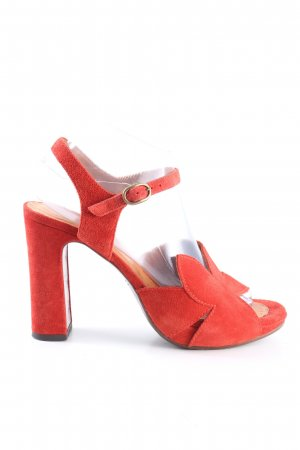 Chie Mihara Sandały na obcasie czerwony W stylu casual