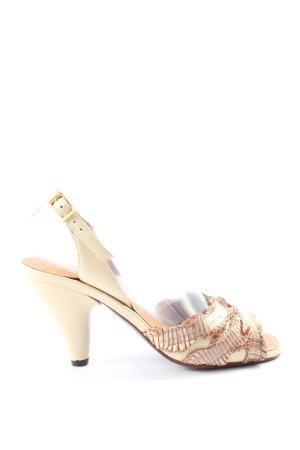 Chie Mihara High Heel Sandaletten creme Casual-Look