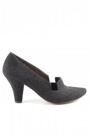 Chie Mihara High Heels light grey-black flecked business style