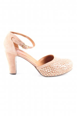 Chie Mihara High Heels nude-weiß Allover-Druck Business-Look