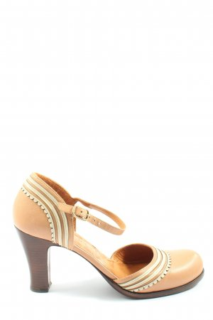Chie Mihara Hochfront-Pumps nude-wollweiß Casual-Look
