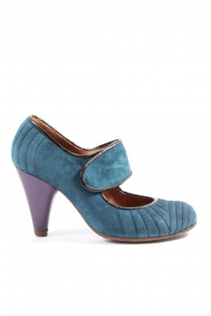 Chie Mihara Mary Jane Pumps blau Casual-Look