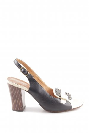 Chie Mihara Strapped High-Heeled Sandals multicolored casual look