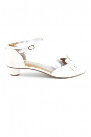 Chie Mihara Strapped High-Heeled Sandals white elegant