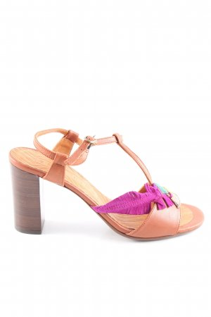 Chie Mihara T-Strap Sandals multicolored casual look