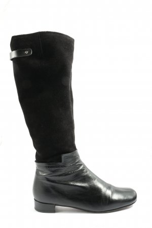 Chie Mihara Wide Calf Boots black casual look