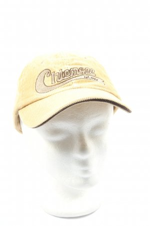 Chiemsee Baseball Cap primrose embroidered lettering casual look