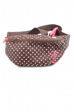 Chiemsee Bumbag brown-natural white spot pattern casual look
