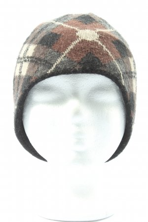 Chiemsee Beanie check pattern casual look