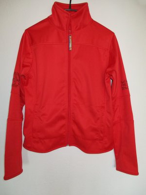 PLUSMINUS created by Chiemsee Chaqueta deportiva rojo-rojo oscuro Poliéster