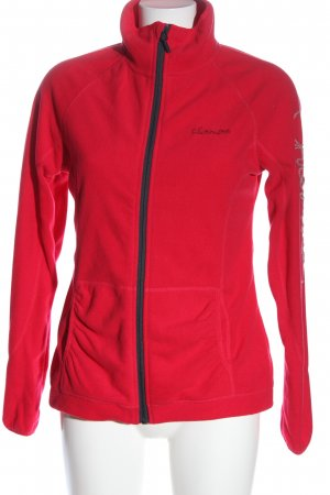 Chiemsee Giacca in pile rosso stile casual