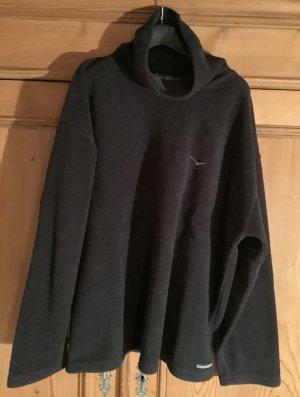 Chiemsee Polarowy sweter czarny Poliester