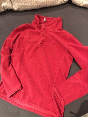 Chiemsee Polarowy sweter czerwony neonowy-malina