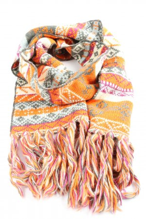 Chiemsee Fringed Scarf allover print casual look